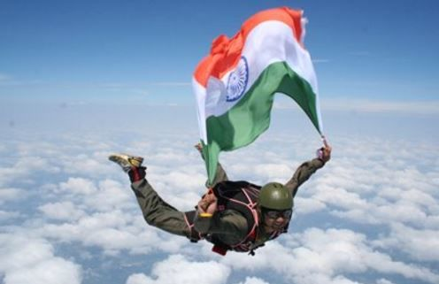 how to become a skydiving instructor in india