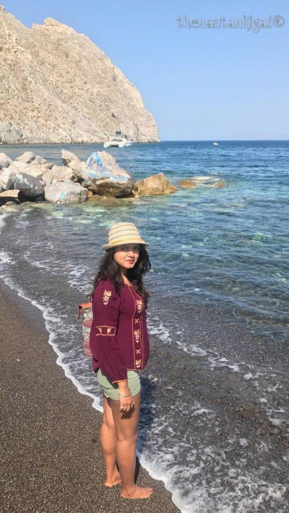 Photo of Perissa Beach, Santorini, Greece by Swati Singh