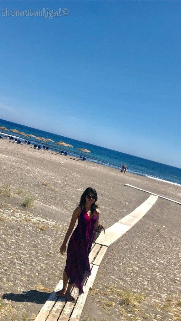Photo of Monolithos Beach, Monolithos, Greece by Swati Singh