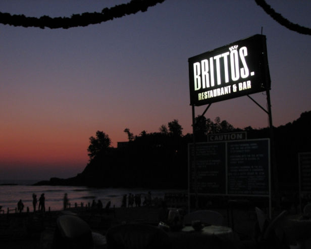 Photo of Brittos, Baga, Goa, India by Sachin Verma