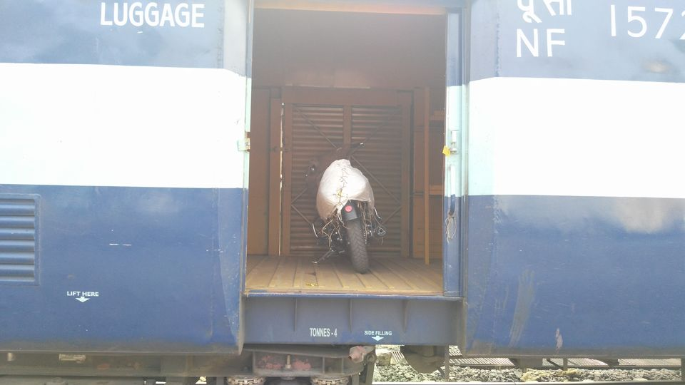 Photos of How to transport your bike by railways. 1/1 by Rahul Singh Rajput