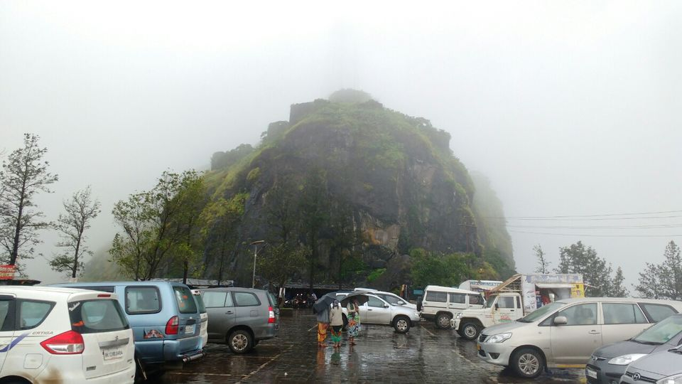Photos of Sinhagad Fort, Pune,  with heavy rain and awesome foggy cloudy climate! 1/1 by Junaid Khalil