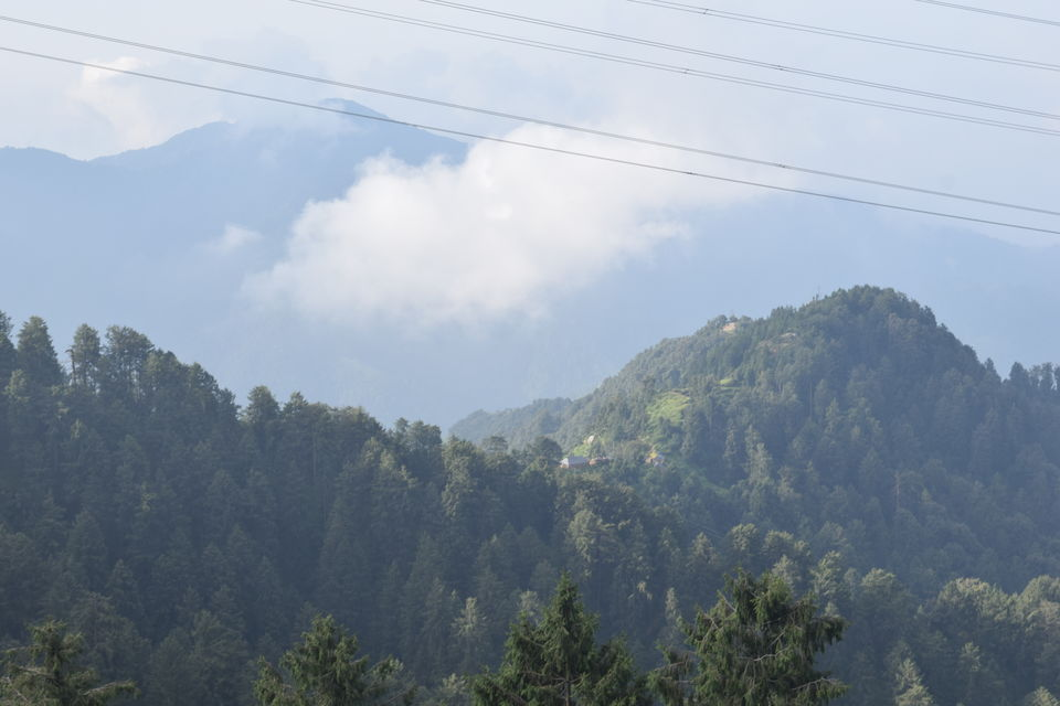 Khajjiar in Monsoon 2016