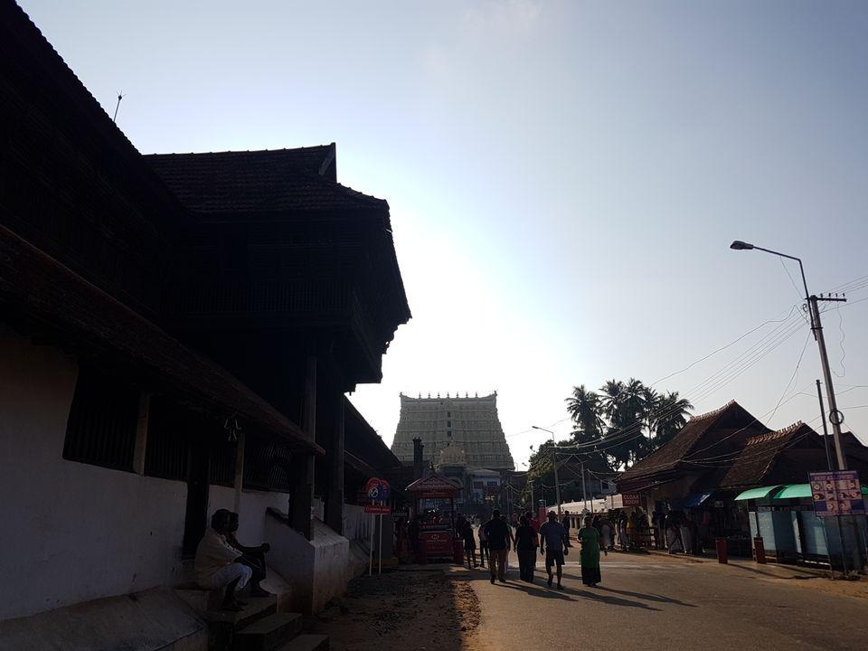 Photo of Sree Padmanabhaswamy Temple, West Nada, Pazhavangadi, Thiruvananthapuram, Kerala, India by The Fervid Traveller
