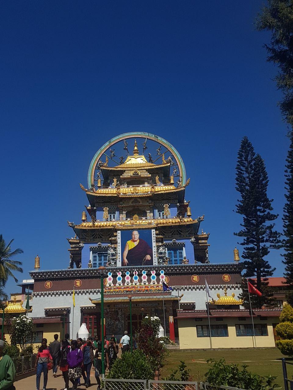 Photo of Namdroling Monastery, Bylakuppe, Karnataka, India by The Fervid Traveller