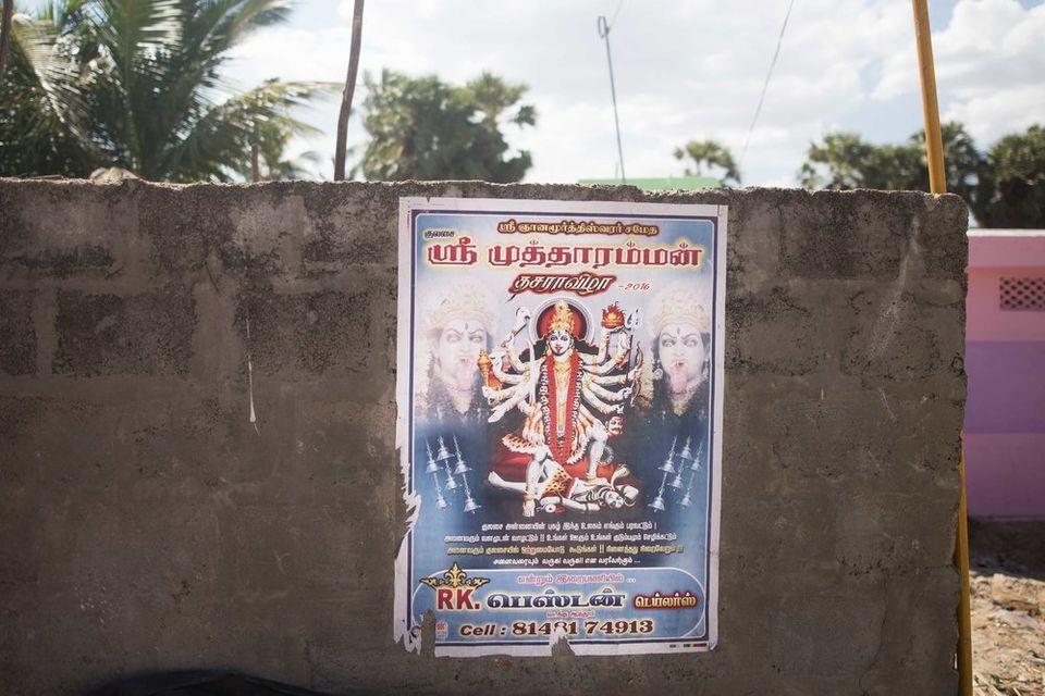 Dussehra in Kulasekarapattinam Mutharamman Temple 2016   Tamilnadu, India