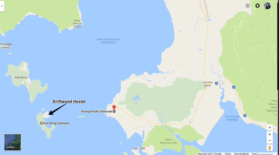 Driftwood Hostel Koh Rong Samloem Cambodia Itinerary Cost How To - Where is cambodia