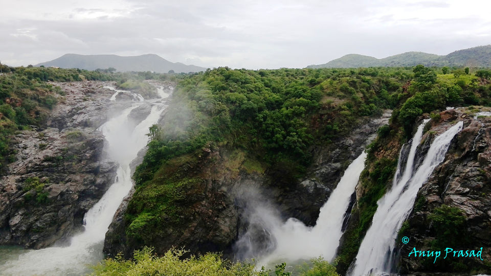 A BikeTrip to Shivanasamudram, Chunchi Falls and Sangama in Monsoon
