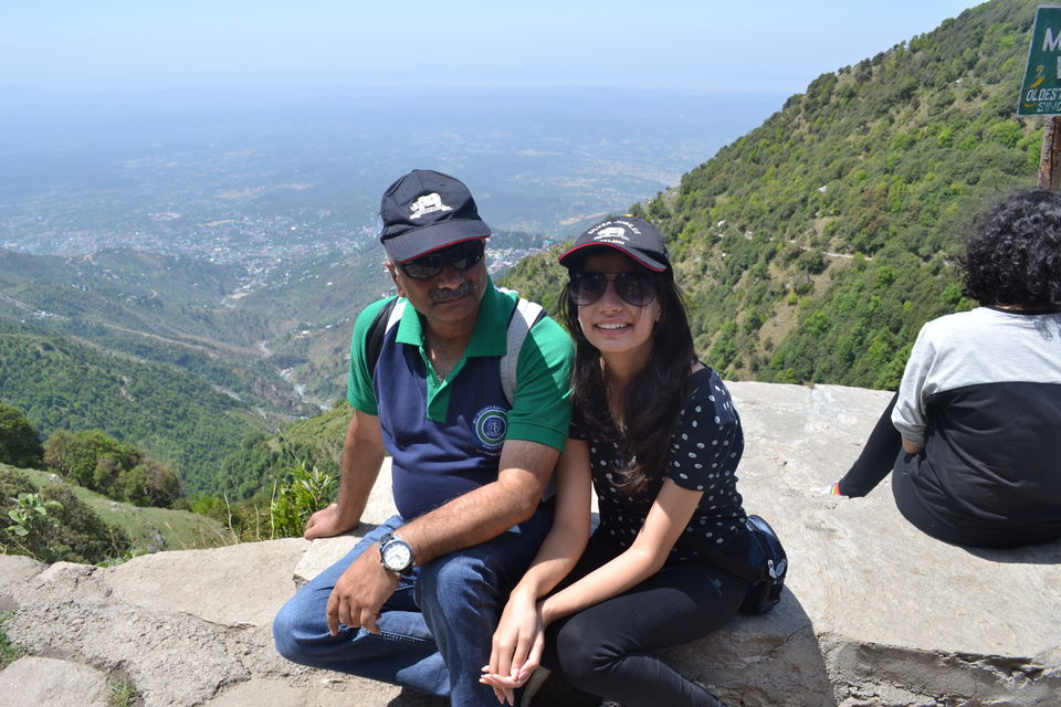 Photo of Father-Daughter Duo Treks to Triund by Saumiabee