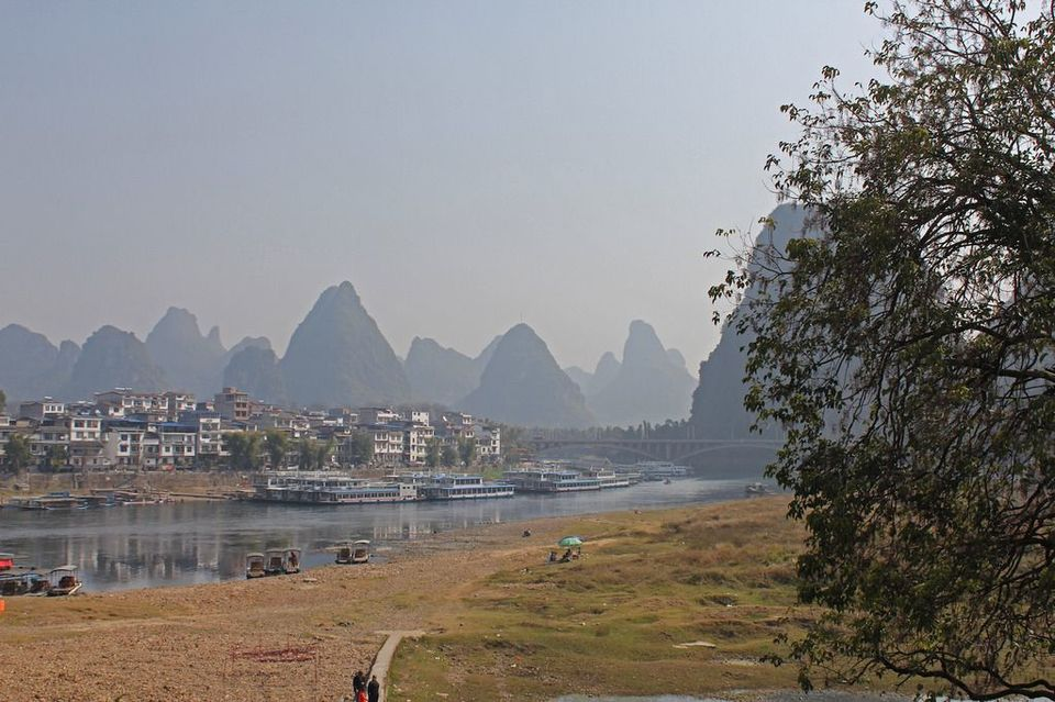 The picture on the 20 Yuan bill is a backpackers paradise.