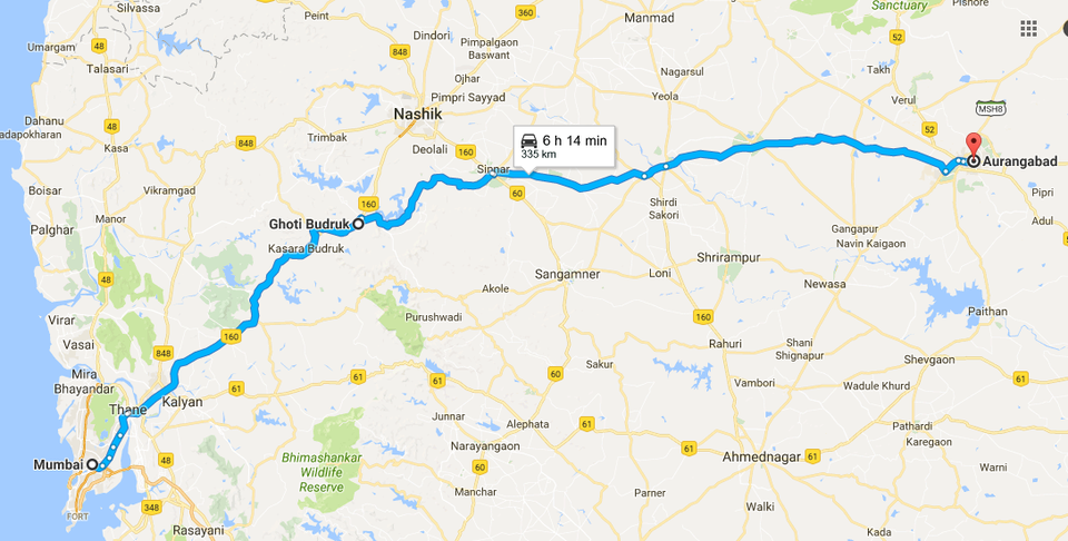 Best travel route to Aurangabad by Abhijit Tripoto
