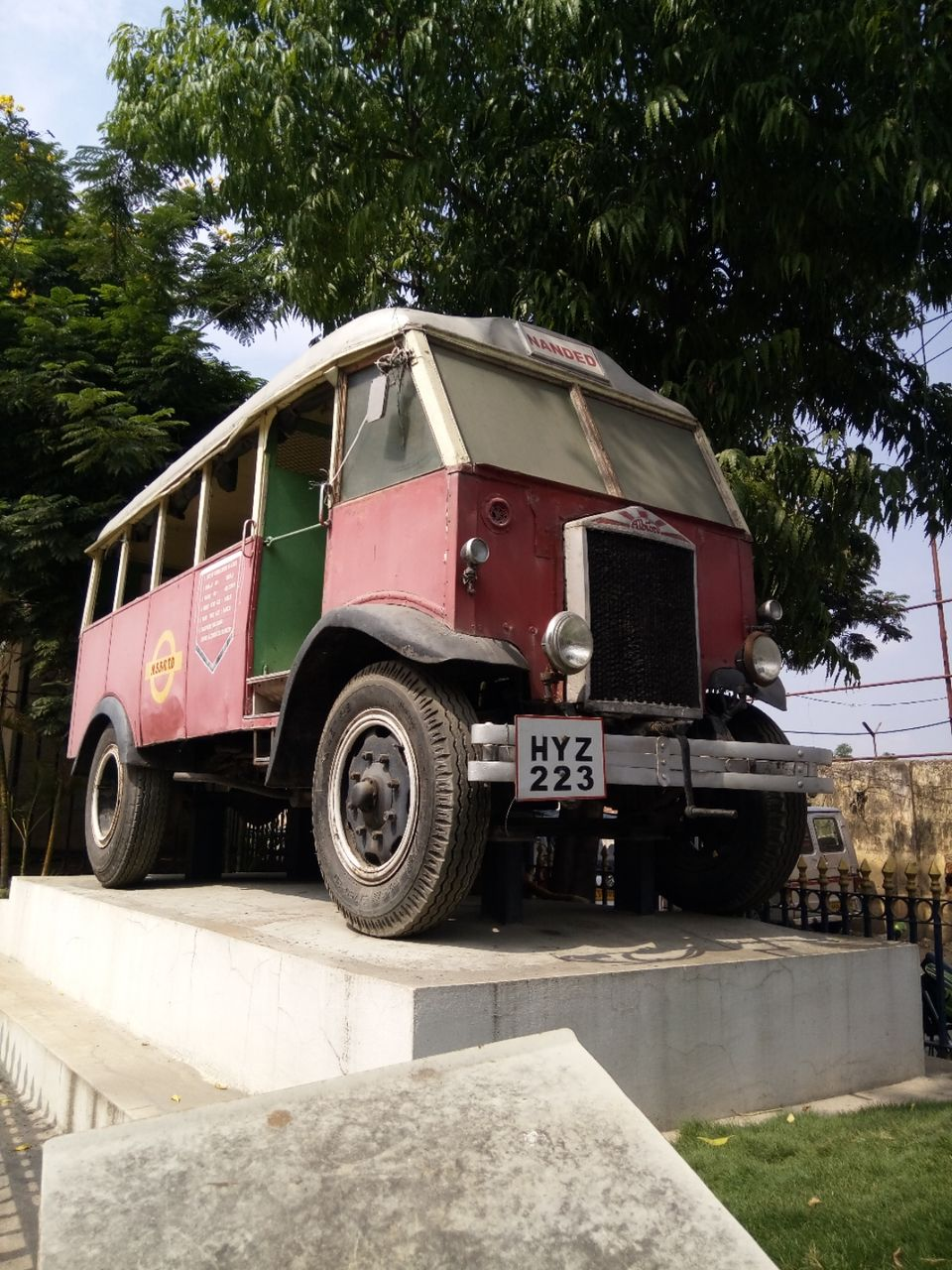 Photos of HYZ 223 – An interesting Story of the History of State Run Buses of Hyderabad. 1/1 by Karim S A