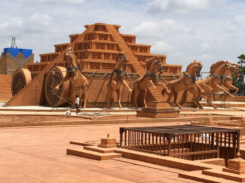 Image result for Baahubali shooting set