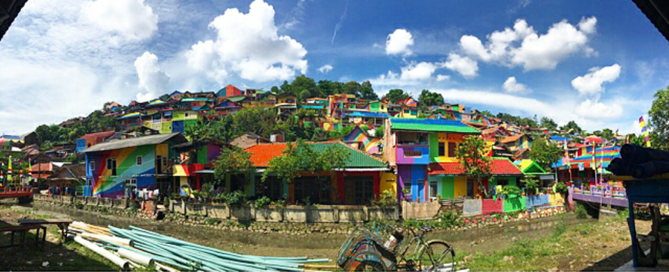 Photos of This Rainbow Village In Indonesia Is Here To Improve The Aesthetics Of Your Instagram Feed 1/1 by Tanishka Goel