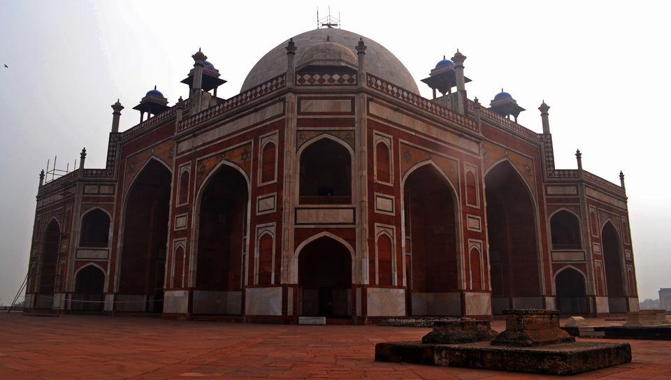 Photos of The hidden gem of Delhi – Humayun's Tomb 1/1 by Saikat Mazumdar
