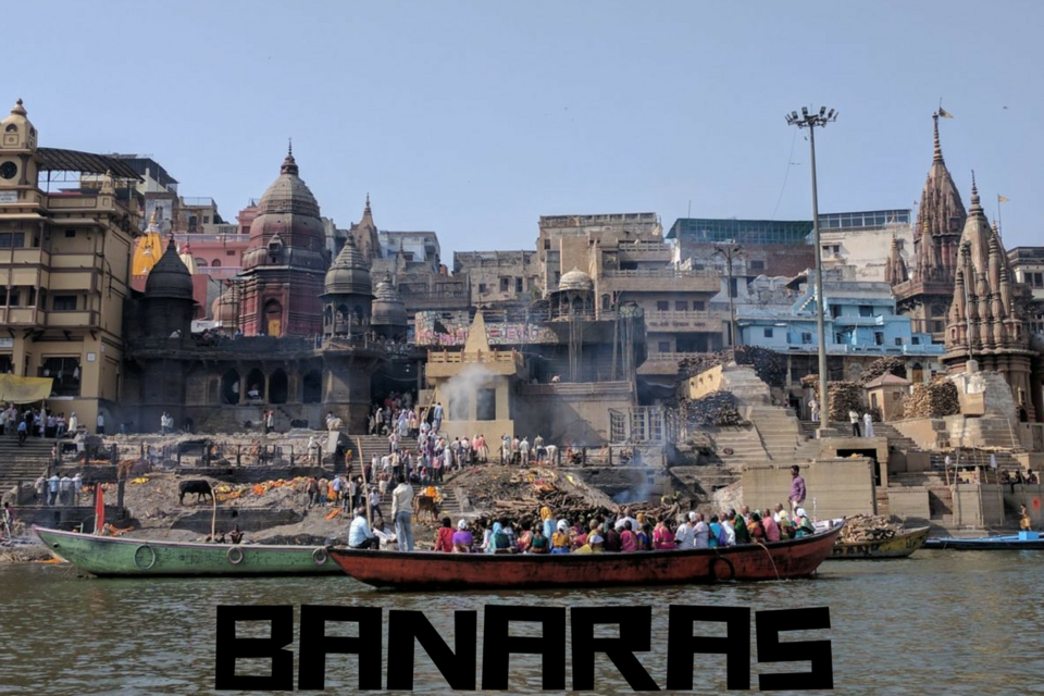 Photos of Ghats of Banaras: Where The Fire Has Been Consuming The Dead For Over a Millennium 1/1 by Aditya Worah