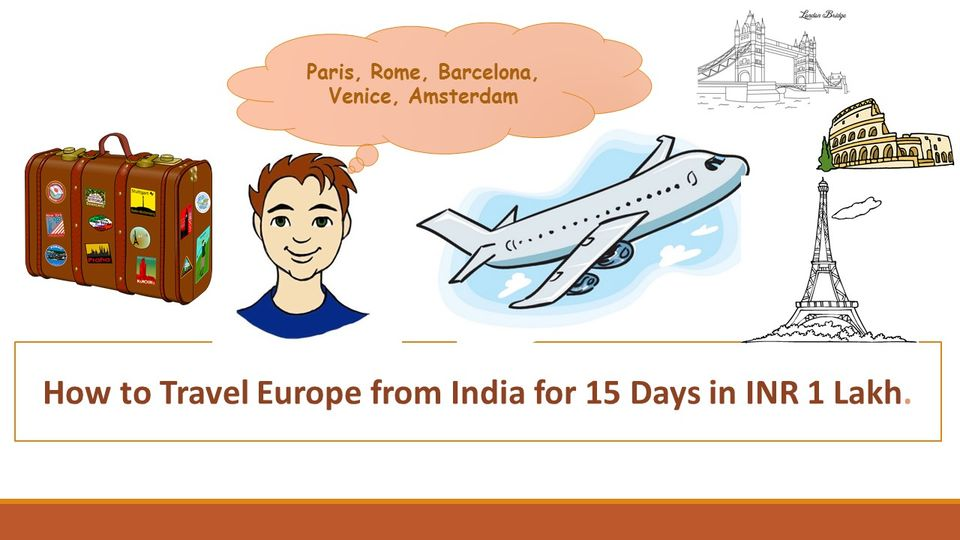 Photos of Travel Europe for  in ₹ 1 Lakh - Part 1: Flight Booking (₹ 30,000) 1/1 by Pragmatic Traveller