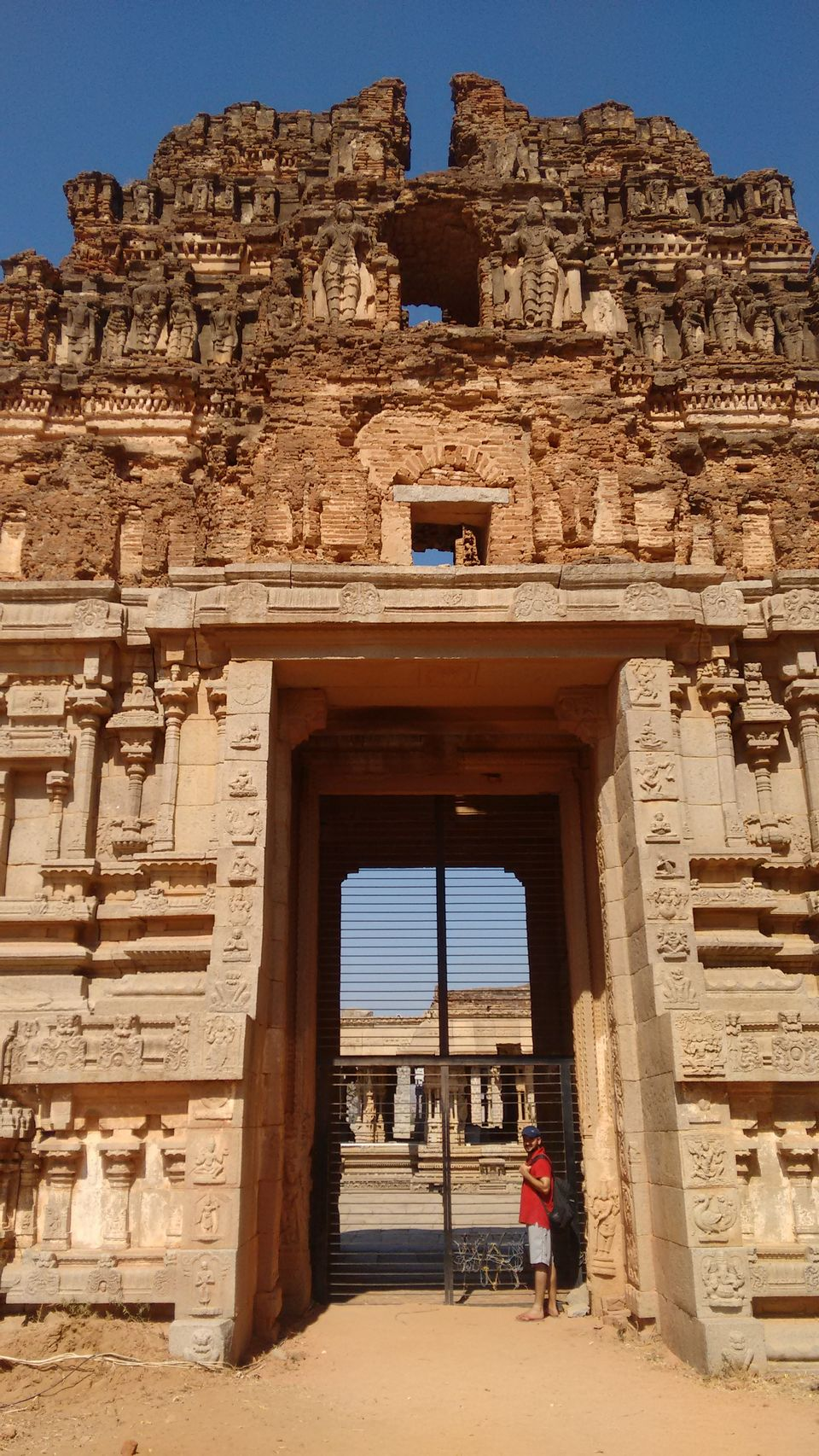 Photos of A peak into the Vitthalla Temple Compound, Hampi from the gateway 1/1 by Sheeba Kaul