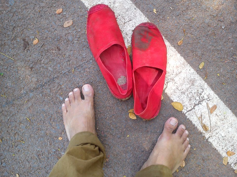 Photos of Barefoot in Bangalore: Steps to keep oneself grounded 1/1 by Unshod Rover