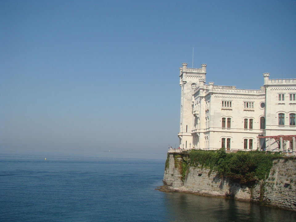 Photos of Trieste and the Art of Waiting, and Looking to the Sea 1/1 by Unshod Rover