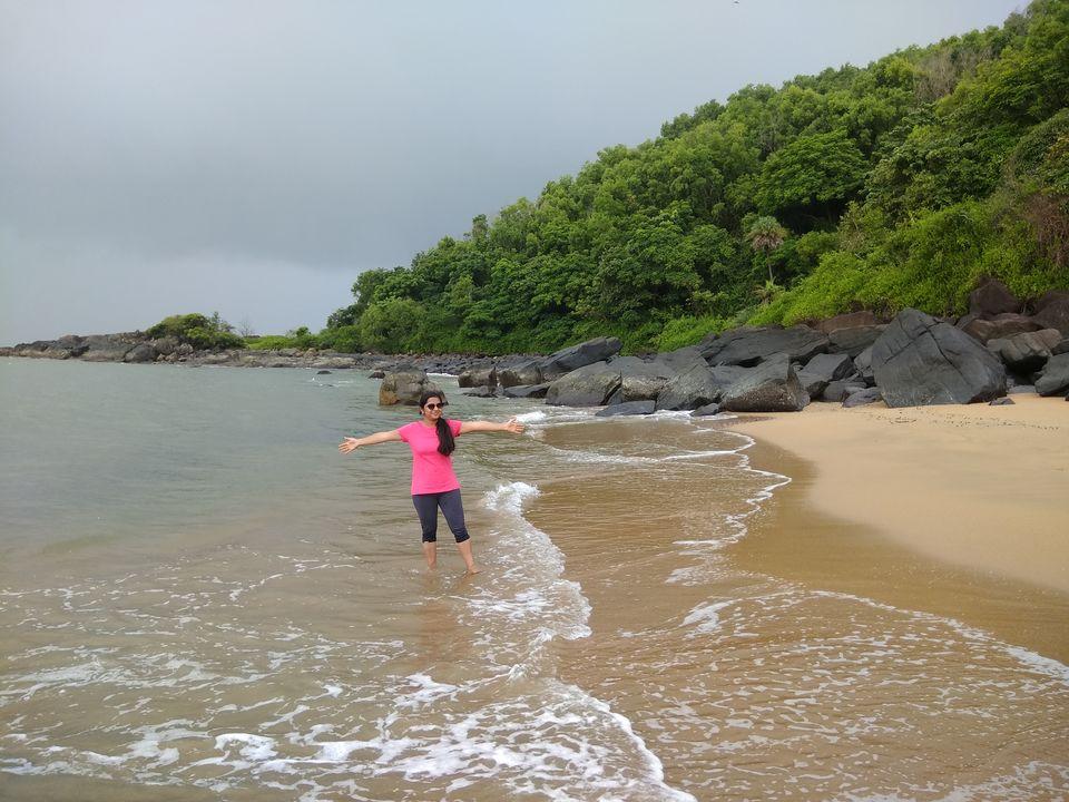 Photos of Half-moon beach.. just us..<br> 1/1 by Nidhi Jain