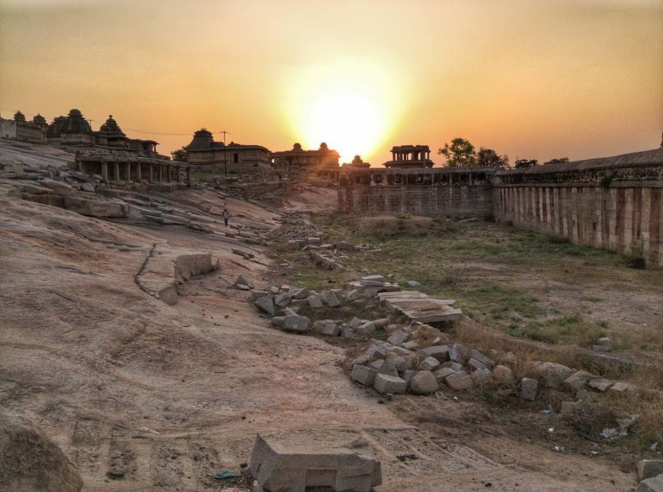 """Photos of <a href=""""https://www.instagram.com/p/BSEBiqsjQxE"""">O</a>n my way to visit a beautiful sunset in Hampi 1/1 by Sachin Shah"""