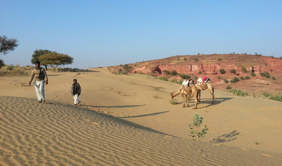 Image result for travelling in thar desert