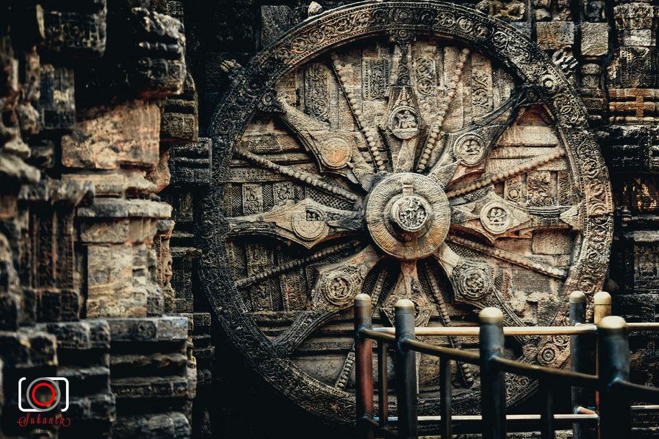 Photos of Ancient Ruins & Temples - Konarak Sun Temple 1/1 by Sukanta Maity