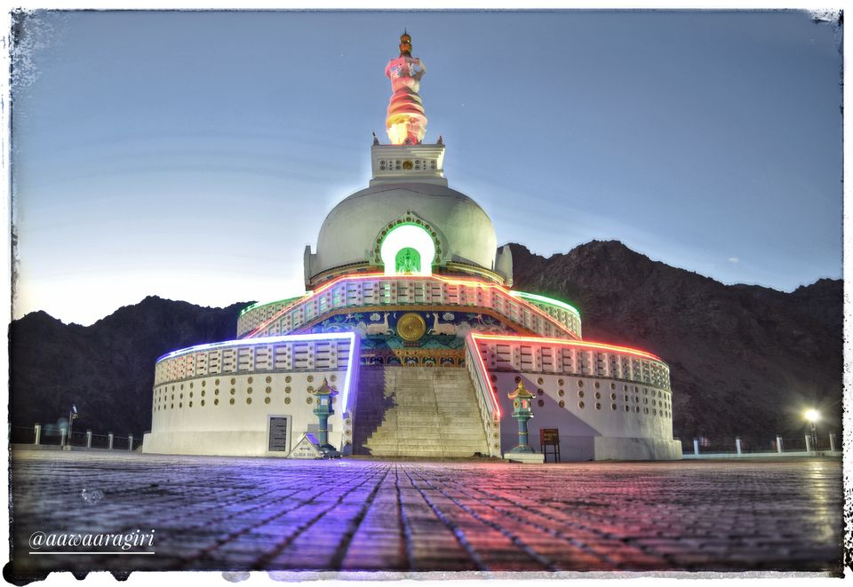 Photos of Shanti Stupa, Shanti Stupa Road, Leh 1/1 by aawaaragiri