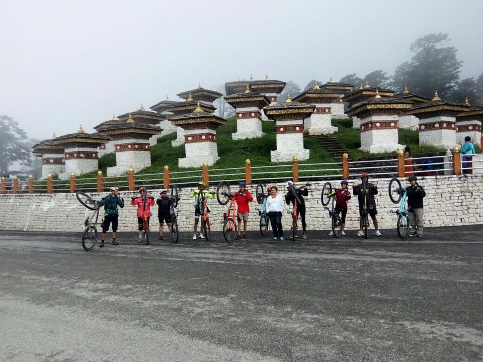 Photos of The Bike Salute at Dochula Pass 1/1 by Ripu Daman