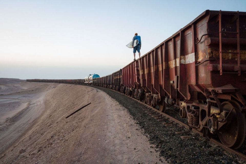 Photo Of This Womans 700 Km Train Hopping Journey Across The Sahara Will Give You