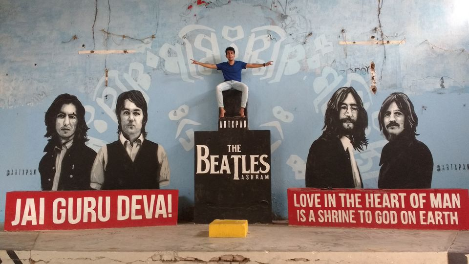 Photo of The Beatle's Ashram, Swarg Ashram, Rishikesh, Uttarakhand, India by theuncanny_traveller