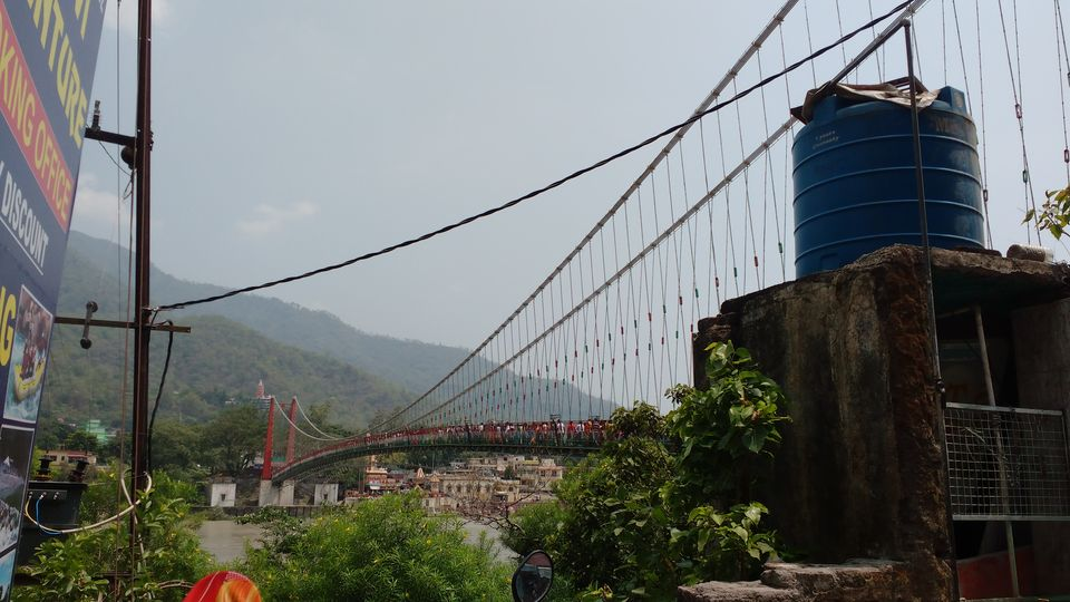 Photo of Ram Jhula, Swarg Ashram, Rishikesh, Uttarakhand, India by theuncanny_traveller