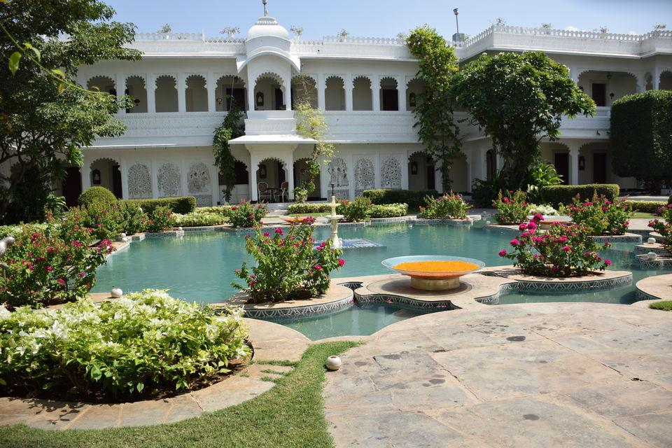 Photo of Experience a Royal Summer at Taj Lake Palace, Udaipur #summerescape #notinhills 2/16 by Krutarth Vashi