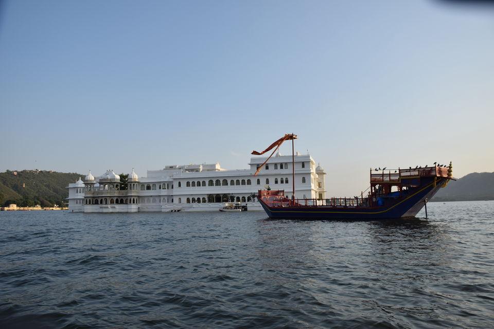 Photo of Experience a Royal Summer at Taj Lake Palace, Udaipur #summerescape #notinhills 16/16 by Krutarth Vashi