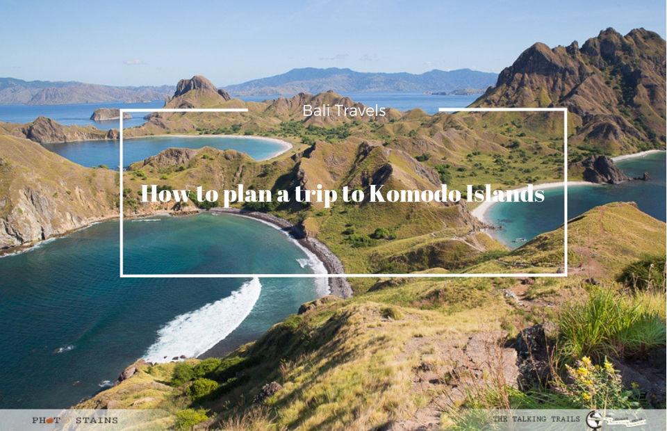HOW TO PLAN A TRIP TO KOMODO ISLANDS