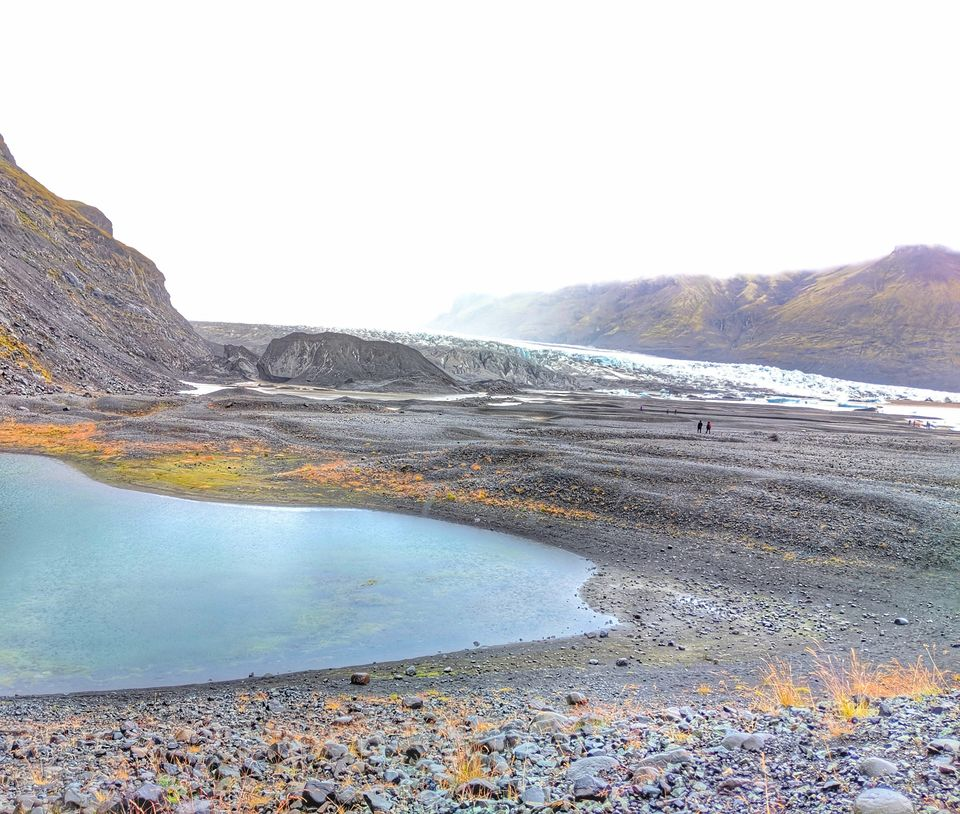 Photo of Skaftafell Glacier, Skaftafelljökull Trail, Iceland by Sudipta Nandy