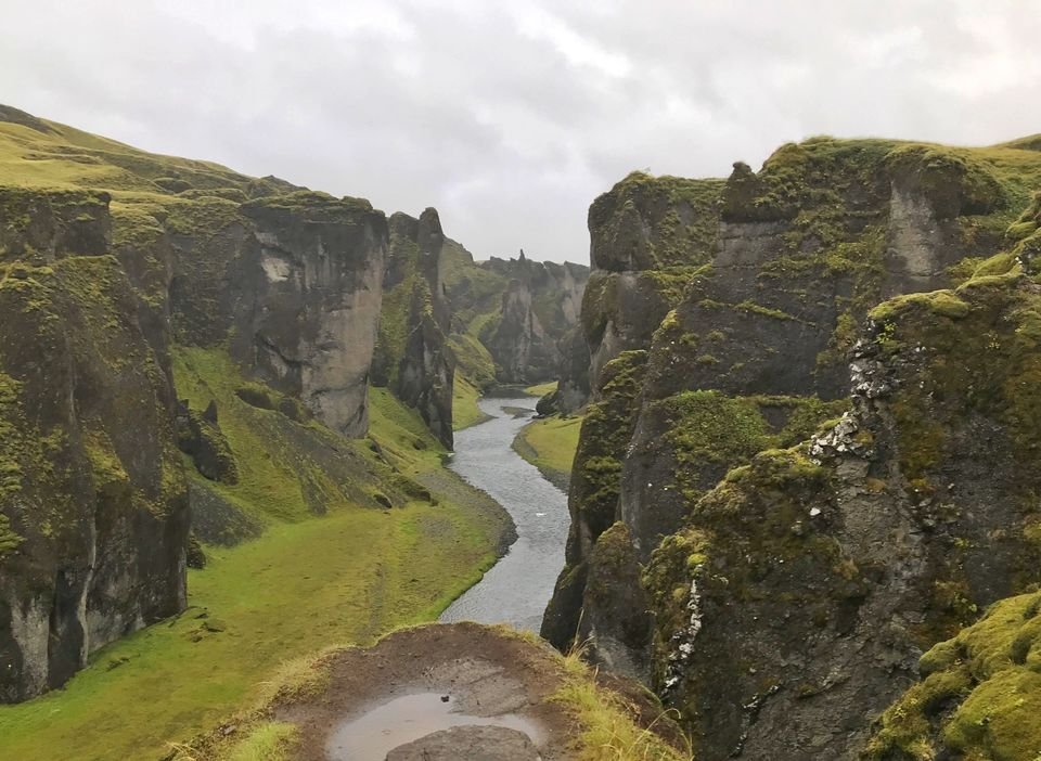 Photo of Fjaðrárgljúfur Canyon, Iceland by Sudipta Nandy
