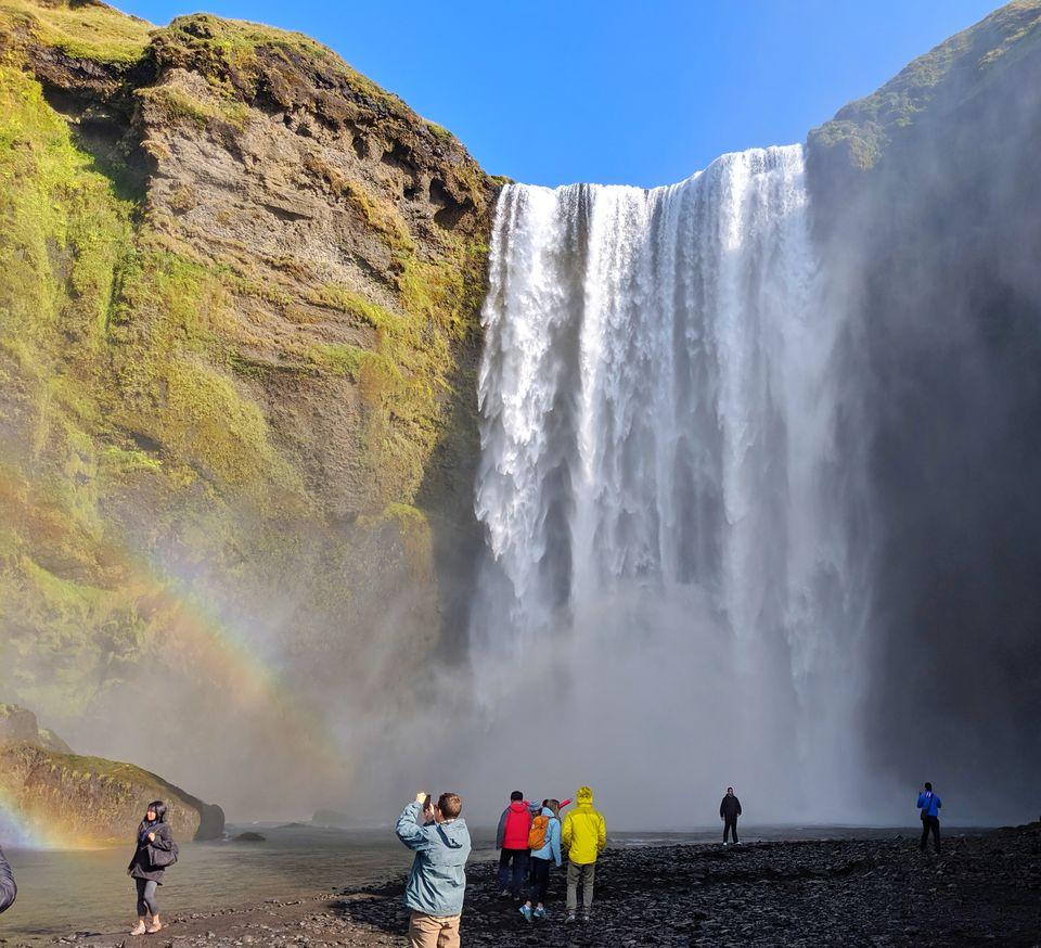 Photo of Skógafoss Waterfall, Gönguleið um Fimmvörðuháls, Iceland by Sudipta Nandy