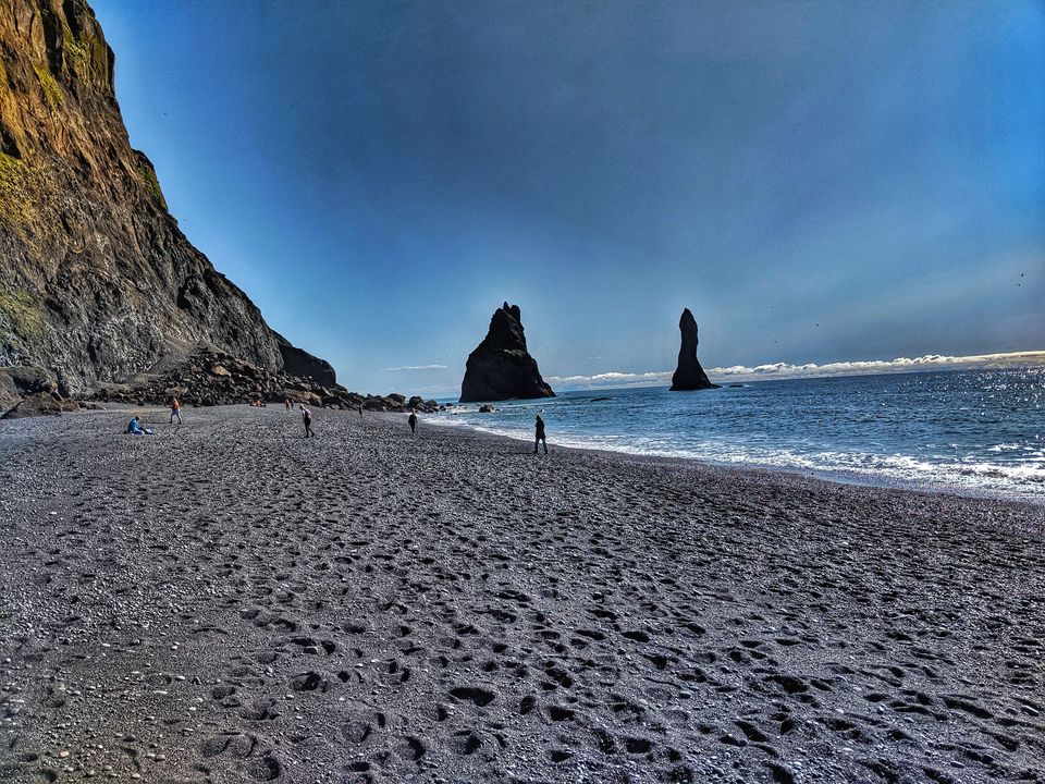 Photo of Reynisfjara Beach, Iceland by Sudipta Nandy
