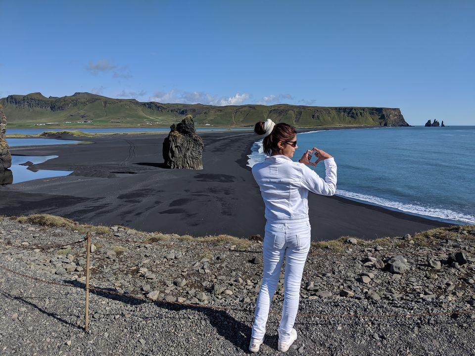 Photo of Dyrhólaey Viewpoint, Iceland by Sudipta Nandy