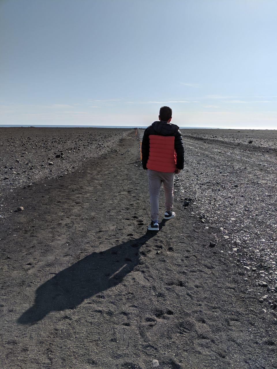 Photo of Path to Wrecked DC-3 Plane on Sólheimasandur, Iceland by Sudipta Nandy
