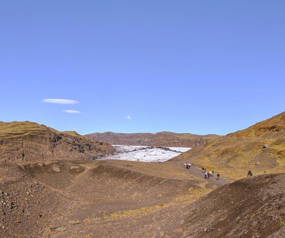 Photo of Sólheimajökull Glacier, Sólheimajökulsvegur, Iceland by Sudipta Nandy