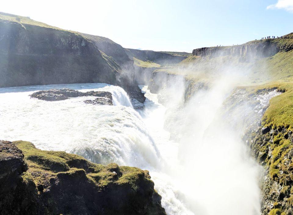 Photo of Gullfoss, Iceland by Sudipta Nandy