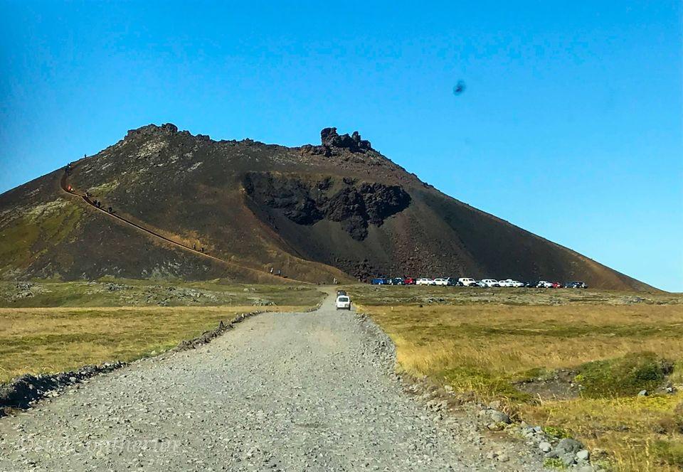 Photo of Saxhóll Crater, Iceland by Sudipta Nandy