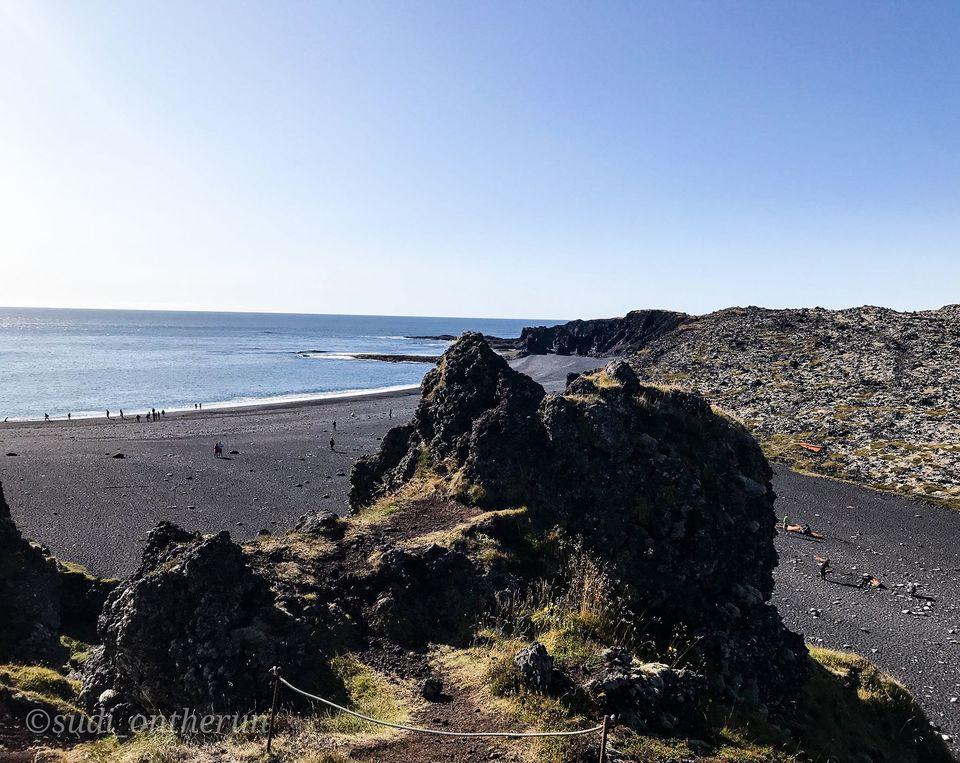 Photo of Djúpalónssandur beach, Iceland by Sudipta Nandy