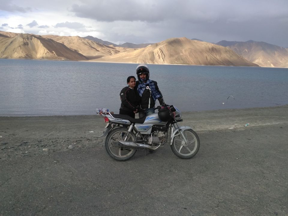 First Couple Ever (Theloneriders) To Ride From Delhi To Leh Ladakh