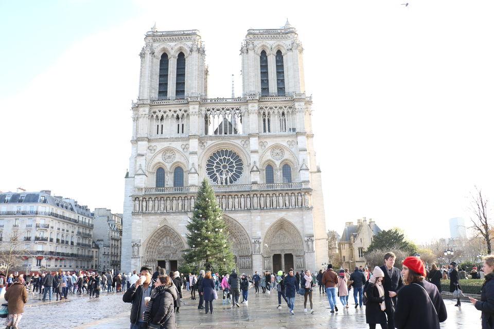 Photo of Cathédrale Notre-Dame de Paris, Parvis Notre-Dame - place Jean-Paul-II, Paris, France by Sagarika Mohanty