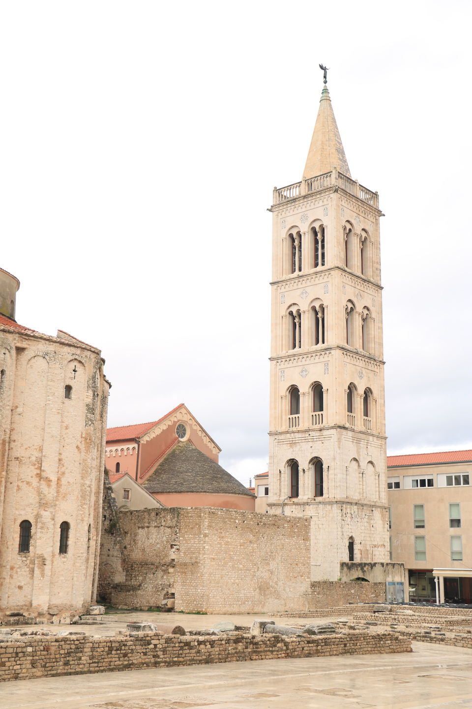 Photo of Saint Anastasia, Trg Svete Stošije, Zadar, Croatia by Sagarika Mohanty