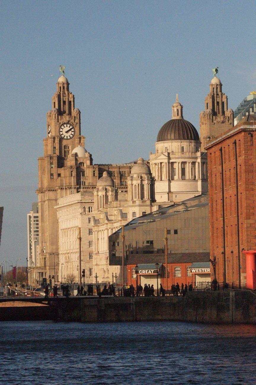 Photos of Liverpool - from the Albert Dock 1/13 by Harita Vinnakota